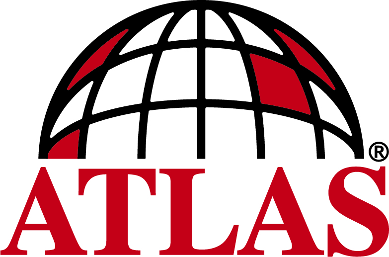 Atlas Corporate Logo Black Red